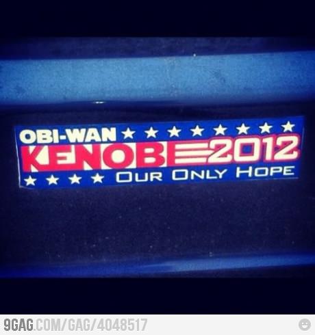 É a sua única esperança!