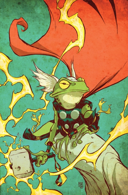 Pet_Avengers__Thor_Frog_by_skottieyoung